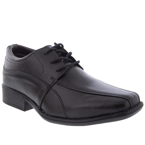 Sapato Social Valença Infantil Pespontos Preto
