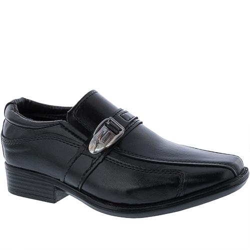 Sapato Social Valença Infantil Fivela Preto